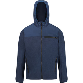 Regatta Upham Hybrid Chaqueta Softshell Hombre, brunswick blue/brunswick blue